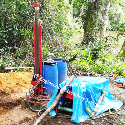 Underground Diamond Core Drill Rig