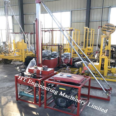 Hydraulic Borehole Soil Core Sampling Rig Equipment