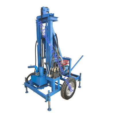 Portable Hydraulic Water Well Drilling Rig Machine Price For Sale