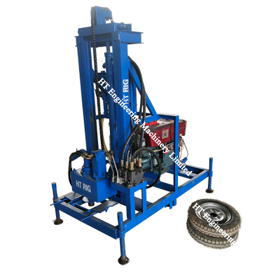 Portable Water Well Drilling And Rig Machine