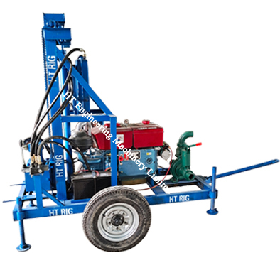 Small Portable Water Borehole Drilling Machine For Sale