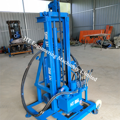 Electric Portable Water Well Drilling Rig Machines