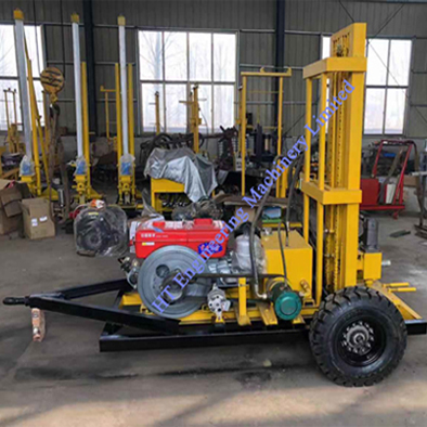 Diesel Engine Water Well Drill Machine Rig