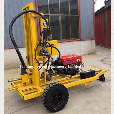 Hydraulic Water Well Borehole Drilling Machine