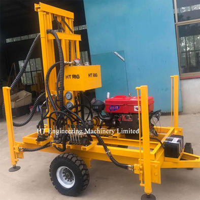 200M Water Well Rotary Drill Rig 200mm