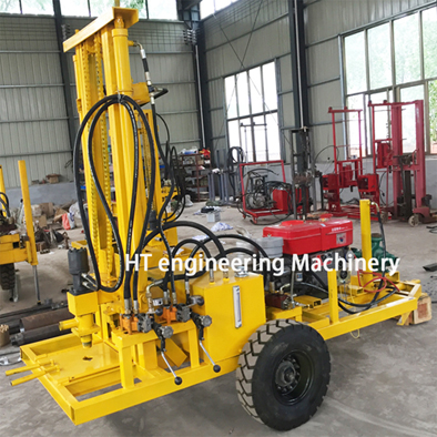 150M Diesel Water Well Drilling Rig