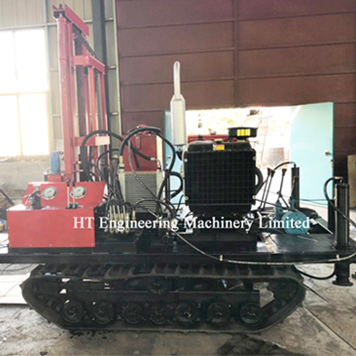 Track-Type Water Well Drilling Rig Equipment
