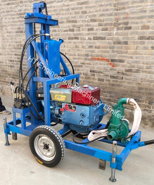 Bore Water Well Drilling Machine Price