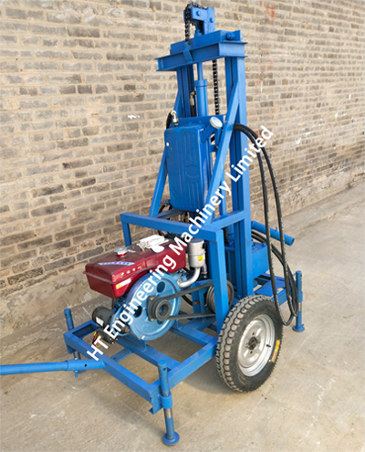 Portable Diesel Water Well Drill Rig For Sale