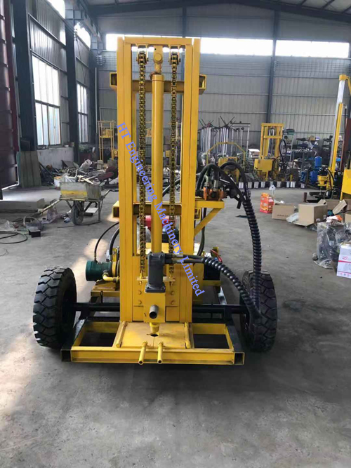 Mobile Borehole Water Well Drilling Rigs Machine For Sale